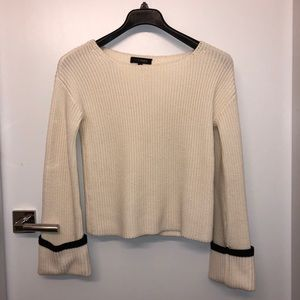 INTERMIX flared sleeves sweater new
